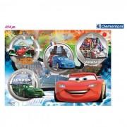 Clementoni puzzle cars 104 pezzi