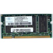 Nanya NT128D64S88A2GM-7K - Mémoire - 128 Mo - SODIMM 200 broches - DDR - 266MHz - PC2100