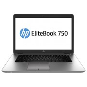 "Notebook HP EliteBook 750 G1, 15.6"" Intel Core i5-4210U, RAM 4GB, HDD 500GB, Windows 7 Pro, Negru"
