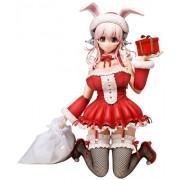 NITRO SUPER SONIC Super Sonico Santa Ver. (1/4 Scale PVC Figure) (japan import)