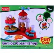Fundoh fun ice cream shop playset