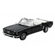 MotorMax - 73145bk - Ford - Mustang 64 1/2 - Convertible - Scala 1/18