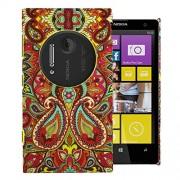 Heartly Aztec Tribal Art Printed Design Retro Color Armor Hard Bumper Back Case Cover For Nokia Lumia 1020 909 RM-875 - Colorful Mehndi