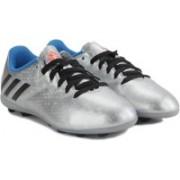 Adidas MESSI 16.4 FXG J Men Football Shoes(Silver)