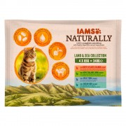 IAMS Naturally Cat Adult Mix - 12 x 85 гр