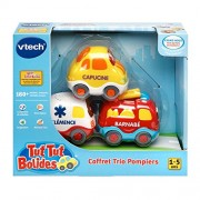 Vtech Tut Tut Bolides 205705 Box of 3 Talking Vehicles: Capuchine + Clemence + Barnaby 1-5 Years