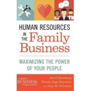 Human Resources in the Family Business 2016 by Amy M. Schuman