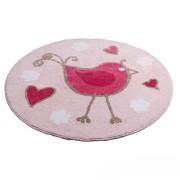 Tweetie Pink Floor Rug by Jiggle & Giggle