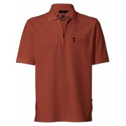 HAJO Pflegeleichtes Polo-Shirt 1/2-Arm HAJO braun