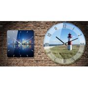 Ceas de perete rotund personalizat