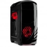 Carcasa K-2 GTS, MiddleTower, Fara sursa, Negru