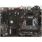Placa de baza MSI H110 PC MATE, Intel H110, LGA 1151
