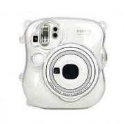 CAIUL Transparent Crystal Protective Instax Mini Case for Fujifilm Instax Mini 25 Instant Cameras Transparent