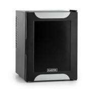 Happy Hour Minibar Minikühlschrank 32 l lautlos A+ Dekortür schwarz