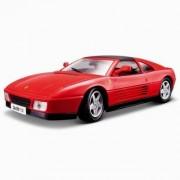 Modèle Réduit De Voiture De Sport : Ferrari Rp 348ts Rouge : Echelle 1/18