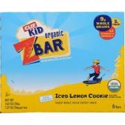 Clif Bar Zbar - Organic - Clif Kid - Iced Lemon Cookie - 7.62 oz - case of 12