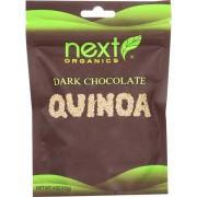 Next Organics Organic Dark Chocolate - Quinoa - Case of 6 - 4 oz.