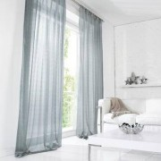 """Vorhang """"Donne"""", 1 Vorhang, 142 x 245 cm - Eisblau"""
