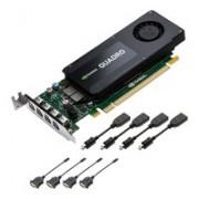 PNY QUADRO K1200 4GB GDDR5 PCI-E 4XM-DP, RVCQK1200DP-PB (PCI-E 4XM-DP)