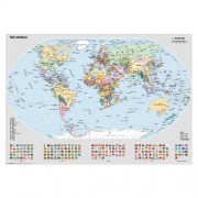 Puzzle harta politica a lumii, 1000 piese, RAVENSBURGER Puzzle Adulti