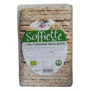Rondele (Galete) bio din orez integral cu multicereale (fara gluten, vegan) 130g