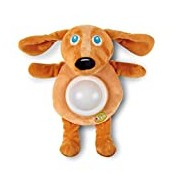 Oops Little Helper Sumptuously Soft Night Light and Comforter in Super Cute Dog Design