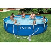 INTEX 366x76cm fémvázas medence szett 28212 M-CSV1