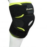 Magnetická bambusová bandáž na koleno inSPORTline - velikost S,