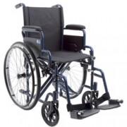 carrozzina / sedia a rotelle pieghevole next ad autospinta - ruote pie