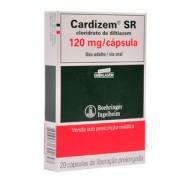 Cardizem Sr 120mg c/ 20 Cápsulas