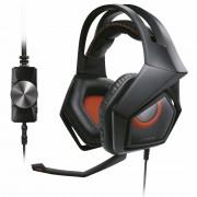 Casti Strix Pro, Gaming, Control volum pe fir, 2 x 3.5 mm, Black