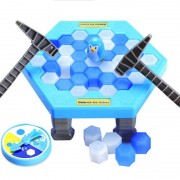 Puzzle Table Games Beat the Ice Cubes Toy Save Penguin Ice-breaking Interactive Destop parent-child Games