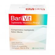 Barivit Suplemento Vitaminico e Mineral Com 60 Comprimidos Mastigáveis