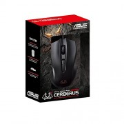 ASUS Cerberus Ambidextrous Wired 6-Button Optical Gaming Mouse (Cerberus Gaming Mouse)