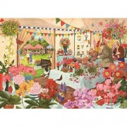 1000 Piece Jigsaw Puzzle - Flower Show NEW JULY 2015 by The House of Puzzles