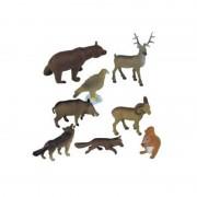 Set figurine animale de padure