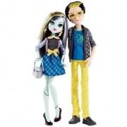 Mattel - Muñeca fashion Frankie Stein Monster High