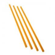 Pachet 4 bucati tub rigid acrilic PrimoChill 13/10mm, UV Orange, 60cm