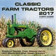 Classic Farm Tractors 2017: 16-Month Calendar September 2016 Through December 2017