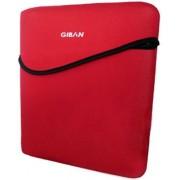 Giban NB-2136 Custodia Porta PC 10.1 pollici, Rosso/Bianco