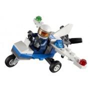 LEGO City Mini Figure Set #30018 Police Plane Bagged