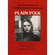 Plain Folk by David M. Katzman