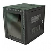 Gabinete de pared NORTH SYSTEM - Negro, Independiente, 12U, 32 kg