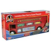 Richmond Giocattoli London Bus Trasformare Carry Case Playset