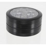grinder poussoir 2 parties 50mm noir