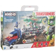 KRE-O Transformers Age of Extinction Optimus Prime Dino Hauler Set (A7796)