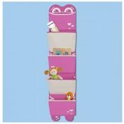 Pkolino Mess Eaters: Hanging Organiser - Pink