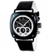 EOS New York Gauge Watch Black/White 173SBLK