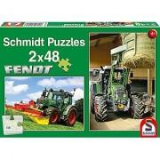 Fendt Tractors Two 48-Piece Children's Jigsaw Puzzle