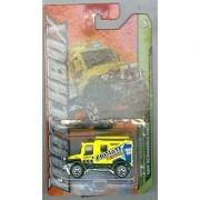 Matchbox 2012-109 MBX Jungle 4X4 Scrambulance Yellow Primate Rescue 1:64 Scale